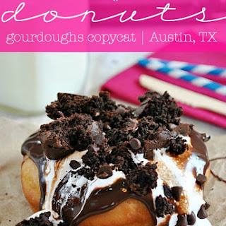 Heavenly Hash Donuts {Gourdoughs Copycat Recipe}