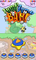Screenshot of Jump Jump BAM!