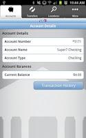 Screenshot of Bank7 Mobiliti