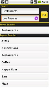 Yellow Pages for Android- screenshot thumbnail