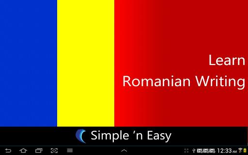 Learn Romanian Writing