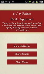 The Bible Trivia Game- screenshot thumbnail