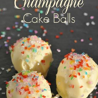 Champagne Cake Balls