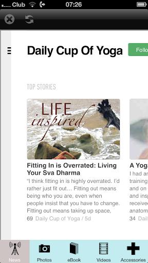 Beginners Yoga App