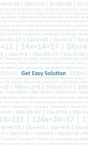GES Equation Solver