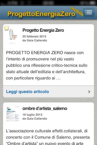 Progetto Energia Zero