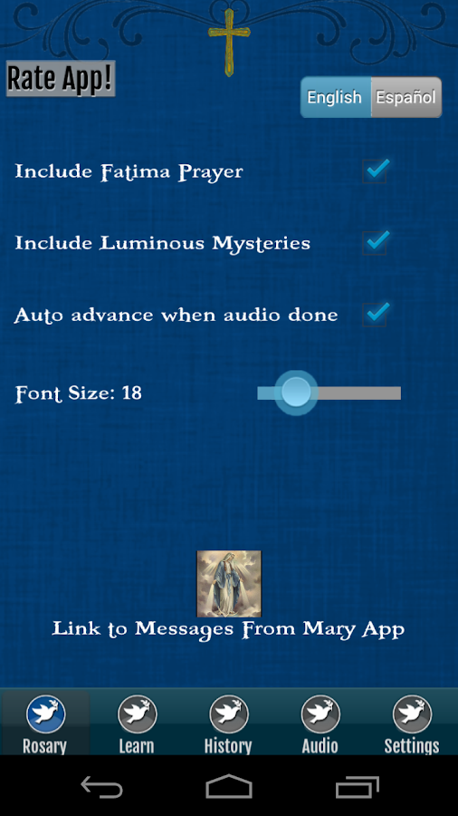 Rosary Audio- screenshot
