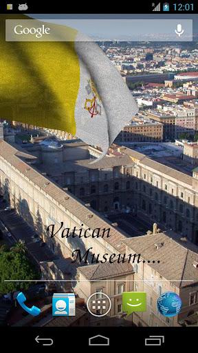 【免費旅遊App】3D梵蒂岡國旗歌-APP點子