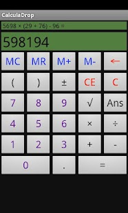 CalculaDrop- screenshot thumbnail