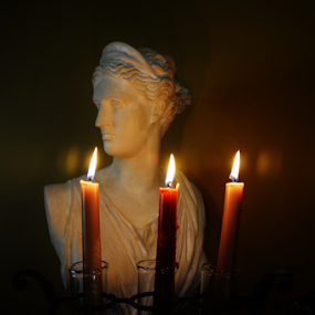 by Shirley Prothero - Novices Only Objects & Still Life ( candle )