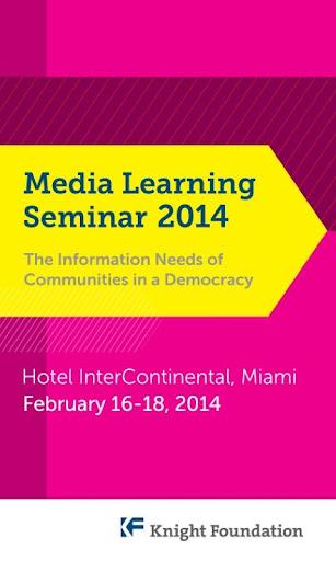 2014 Media Learning Seminar