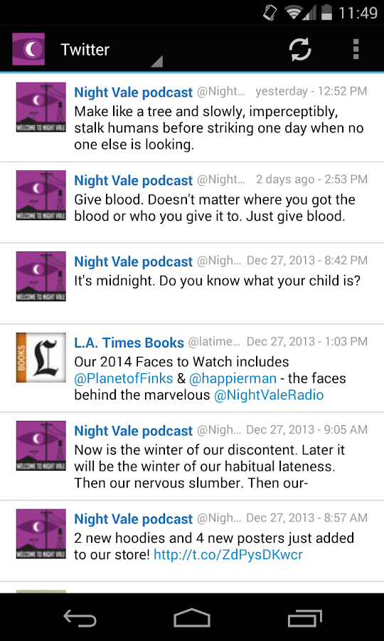 Welcome To Night Vale Podcast - screenshot