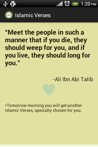 Daily Islamic Quotes Free