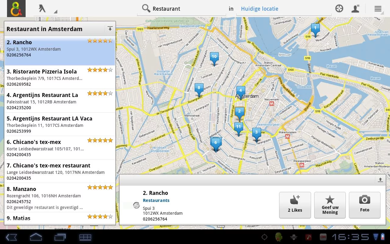 De Telefoongids - Zoek & Vind - screenshot