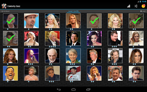 Celebrity Quiz - screenshot thumbnail