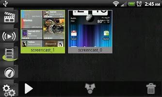 Screenshot of Screencast Video Recorder
