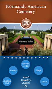 Normandy American Cemetery- screenshot thumbnail