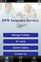 Screenshot of DFW Insurance Services