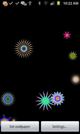 StarBurst Live Wallpaper