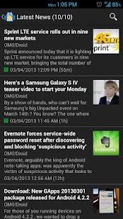 OMG!Droid - screenshot thumbnail