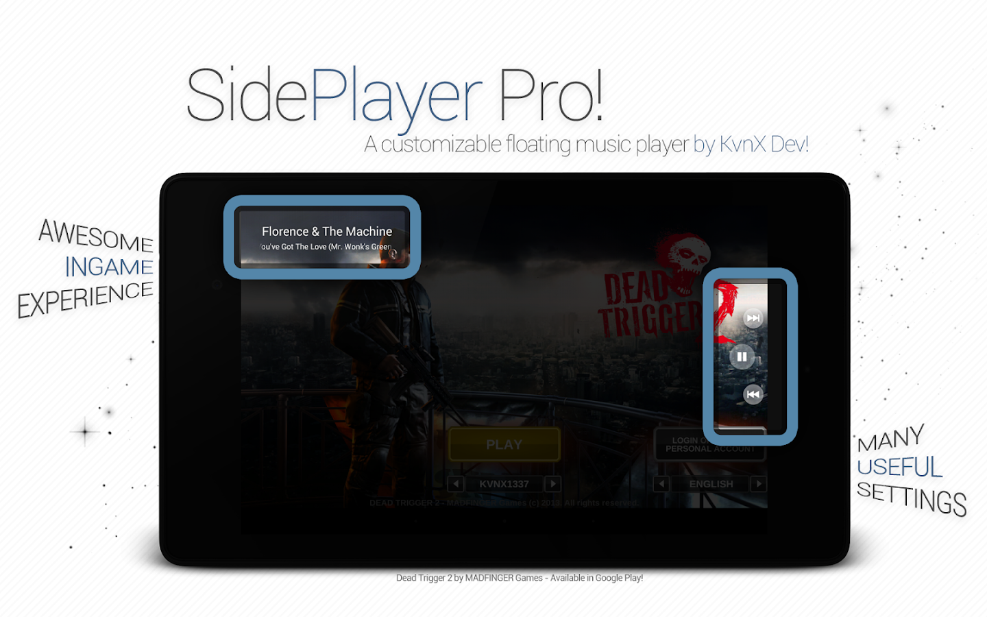 SidePlayer Pro - screenshot
