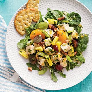 Mixed Fruit Chicken Salad.