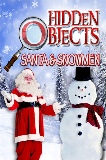 Hidden Objects Santa Snowmen