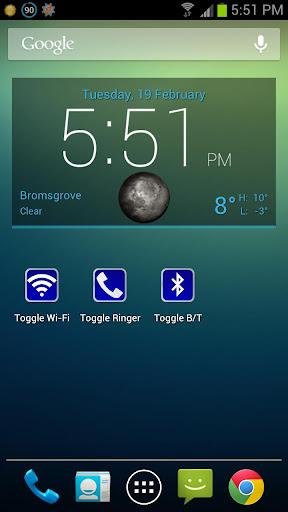 Toggle Bluetooth