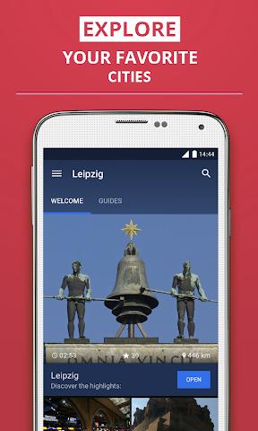 Screenshot 1 Leipzig Reiseführer