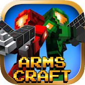Arms Craft:Pixel SpaceGun  FPS
