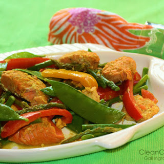 20-Minute Curried Salmon Stir-Fry