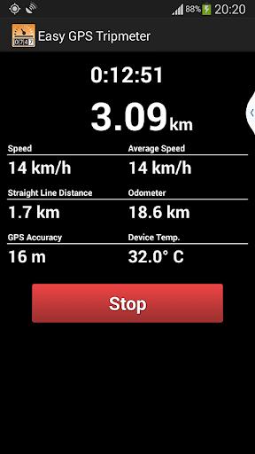 Easy GPS Tripmeter