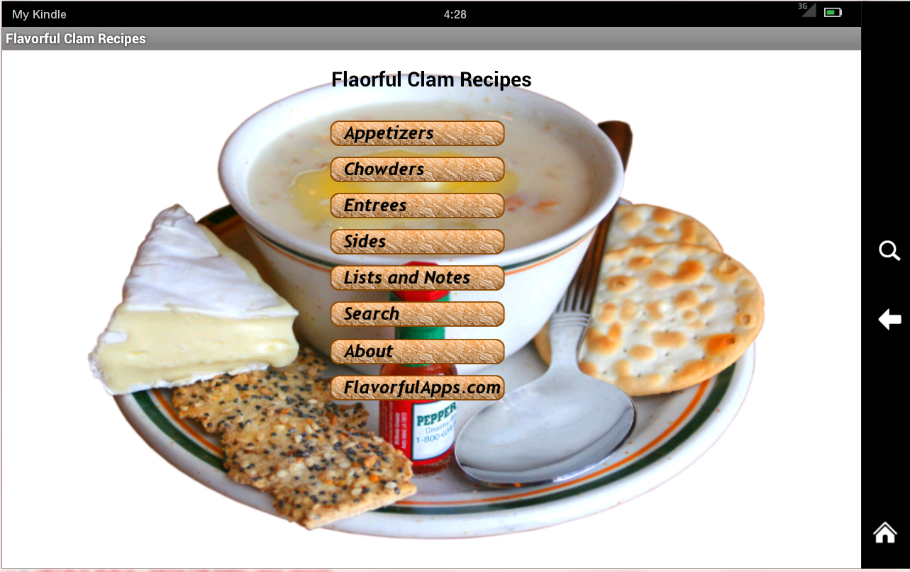 Clam Bake and Chowder Recipes- screenshot