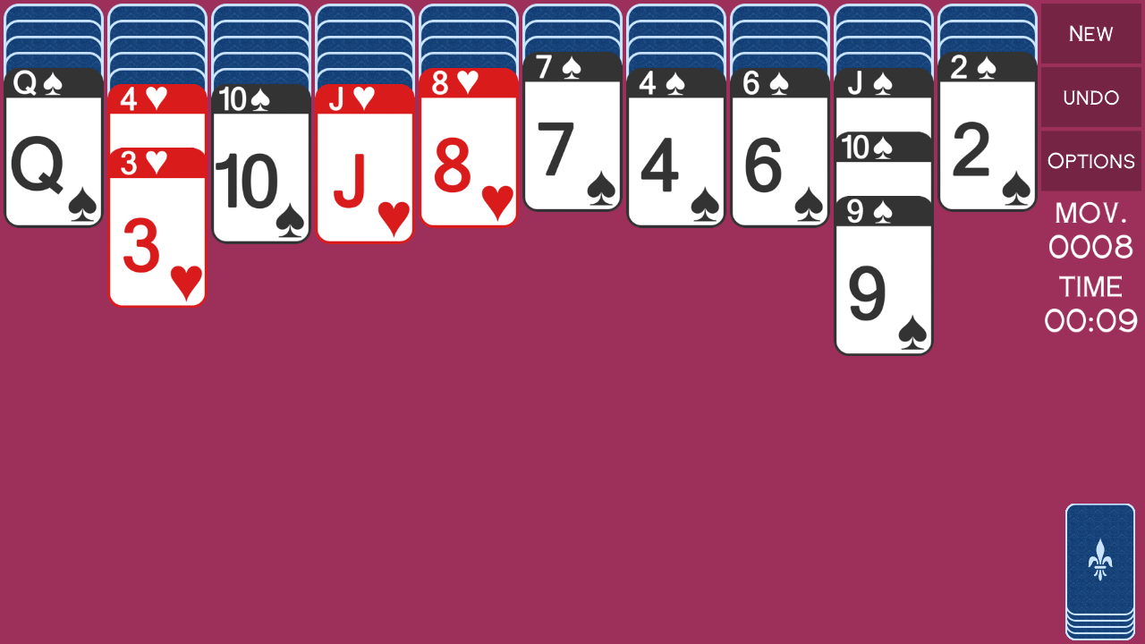 iSpider - spider solitaire- screenshot
