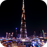 Night Dubai Timelapse LWP for winphone