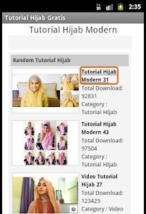Tutorial HIjab Modern Free - screenshot thumbnail