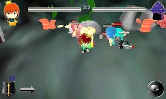 Screenshot of MiniKing 3D game