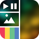 Vidstitch Free - Video Collage icon