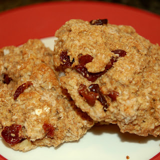 Gluten-Free Buckwheat Scones with Cardamom and Cherries.