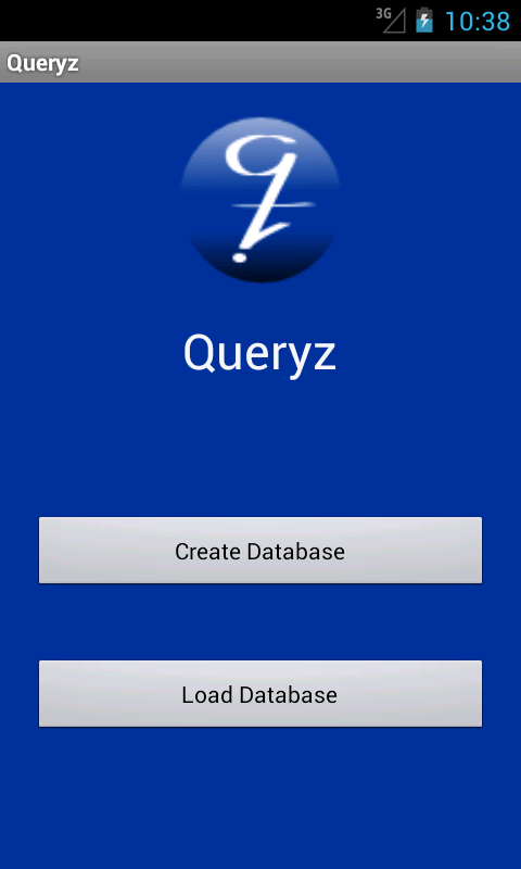Queryz- screenshot
