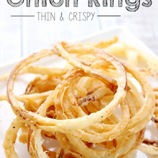 Onion Rings - Thin and Crispy!.