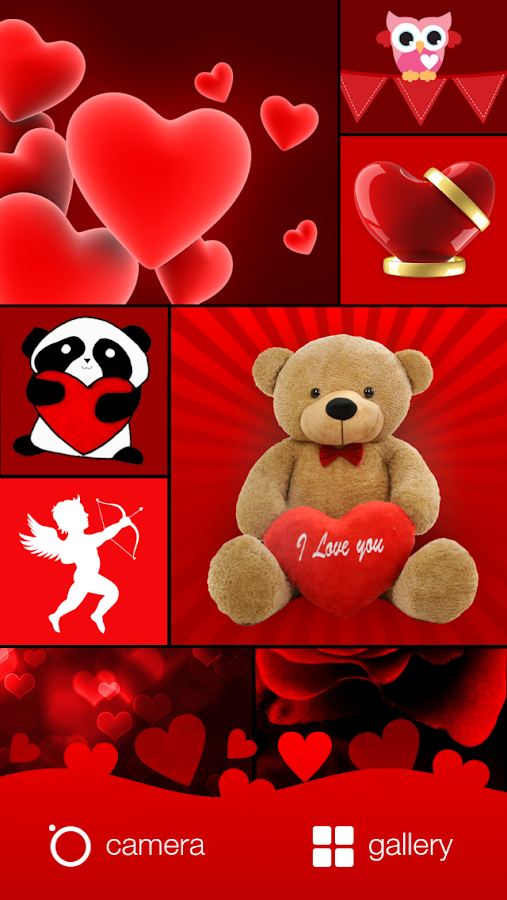love valentine photo editor screenshot