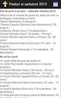 Screenshot of Orthodox Calendar 2013 - 2016