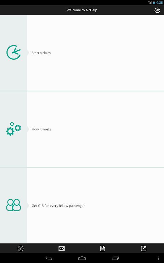 AirHelp - screenshot