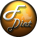 Diet fit plan icon