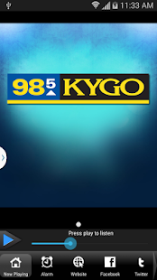 KYGO-FM Denver - screenshot thumbnail