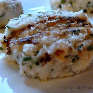 Gluten Free Cod Fish Cakes.