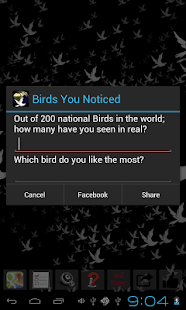 Bird Quiz Game- screenshot thumbnail
