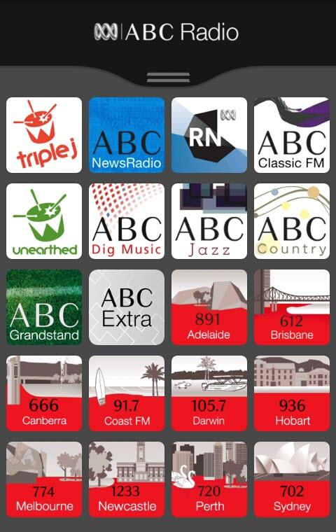 ABC Radio - screenshot