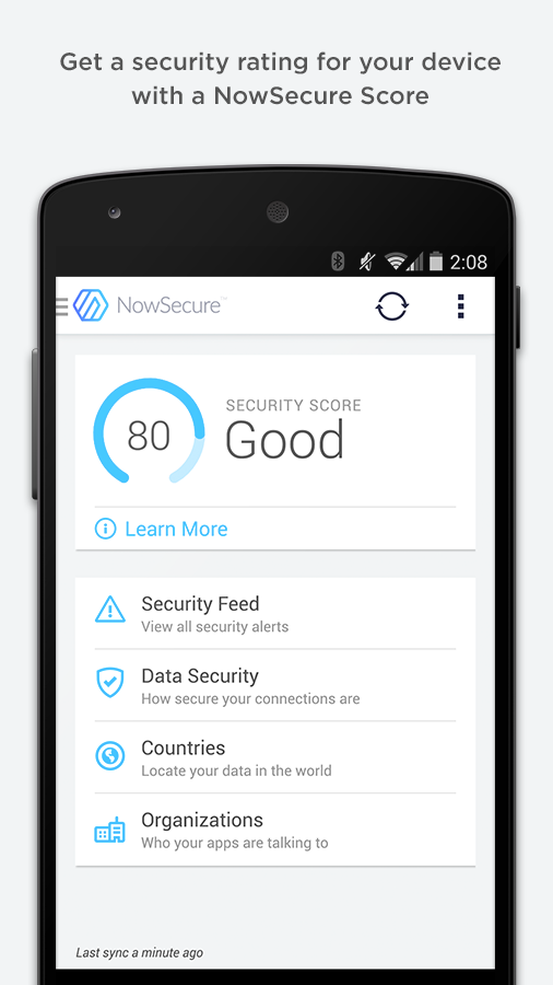 Mobile Security | NowSecure - screenshot